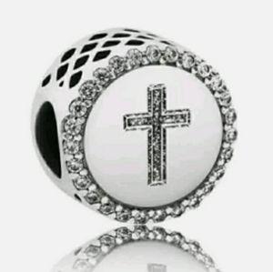 Pandora Faith cross charm.